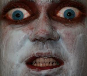 El mensaje... Scary-face